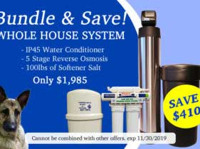 Whole House Water Conditioning System