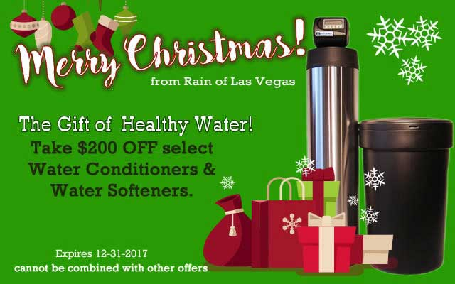 water softener specials