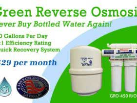 Reverse Osmosis on Special