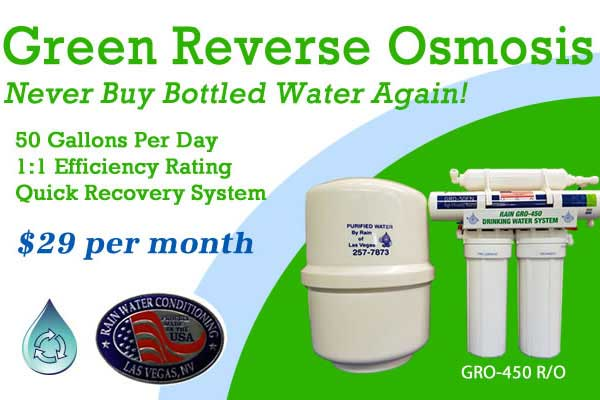 Reverse Osmosis On Special Water Softeners Las Vegas Water Conditioner Service