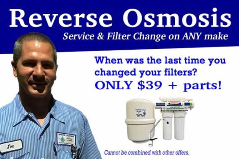 Water Softener Repairs & Service