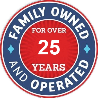 Family owned for 25 years