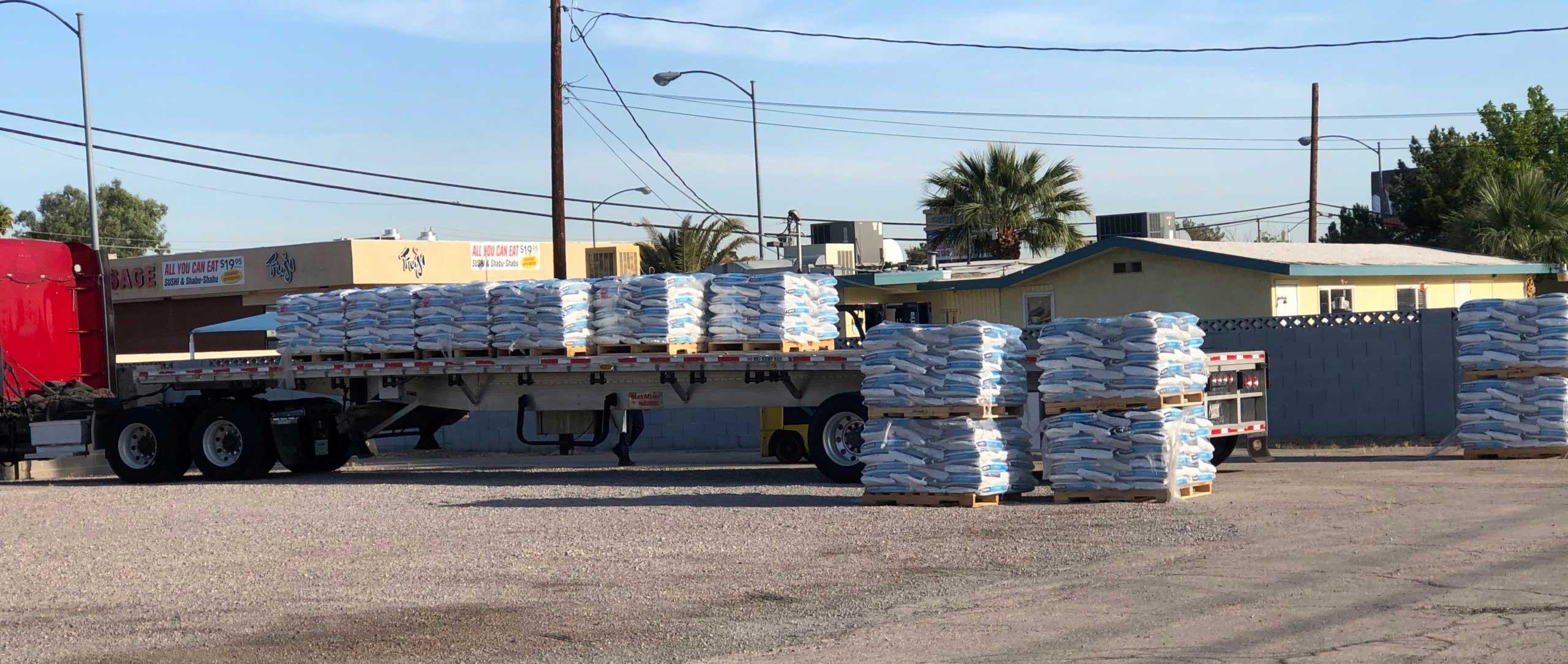 Water Softener Salt Delivery