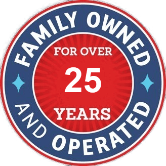 Same family ownership for over 25 years