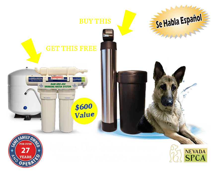 Get Rain GRO-450 Drinking Water System Free With Purchase of RWC-45 Water Softener System Banner Offer Update